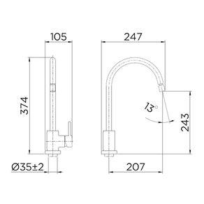 Misturador-monocomando-para-cozinha-Monet-cromado-Docol-888811297