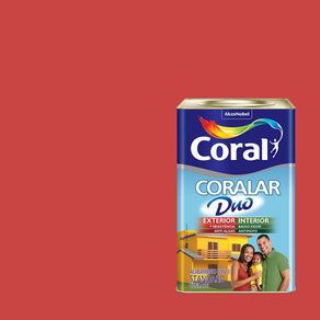 Tinta-Coral-Economica-Coralar-Duo-acrilica-fosca-rubi-18L-888823173