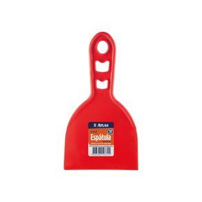 Espatula-plastica-lisa-10cm-vermelho-Atlas-4472