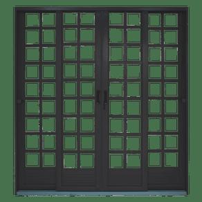 Porta-de-Correr-4-Folhas-com-Divisor-Quadriculado-Alt--215cm-x-Larg--200-cm-com-Primer-50411362