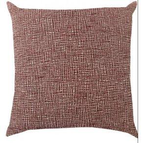Capa-de-Almofada-43X43-Jacquard-Liso-Vermelho-Proxima-Textil-27693