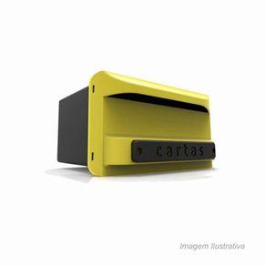 Caixa-Carta-Correios-PVC-Amarela-Inbox-Goma-888811891