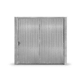 Portao-Contrapeso-Galvanizado-c--Porta-Auxiliar-Esquerda-s--Fechadura-Central-240x220cm-Maxiaco-888829745