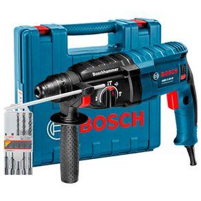 Martelete-Perfurador-GBH-2-24D-220V-c--5-Brocas-Bosch-888825742
