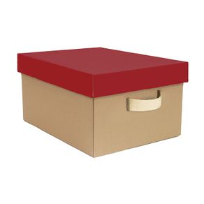 Caixa-Organizadora-Retangular-Vermelha-Media-INDI-Boxgraphia-14591