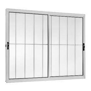 Janela-Ecosul-c--2-Folhas-Moveis-c--Grade-Vidro-Liso-100x120cm-Branco-Esquadrisul-1840797