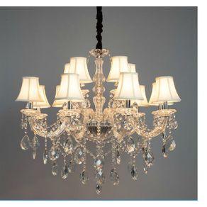 Lustre-Classico-em-Cristal-e-Vidro-p--12-Lampadas-E14-Translucido-Vivendi-2122910